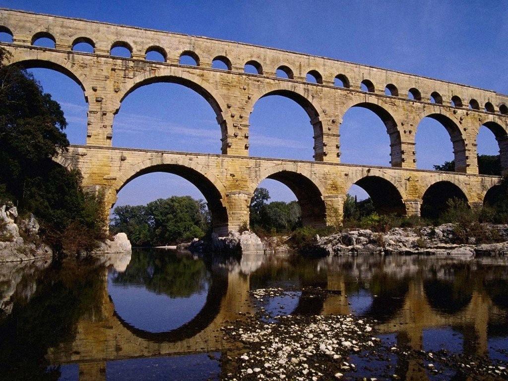 Pont du Gard, Roman Aqueduct