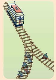 First trolley problem
