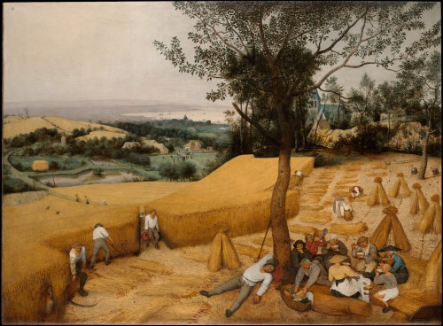 Bruegel the Elder The Harvesters