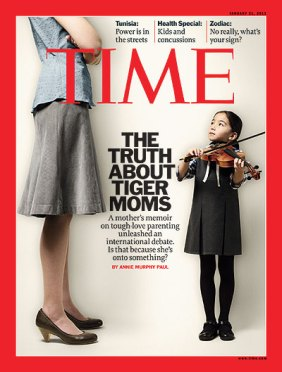 Tiger Mother Time Cover