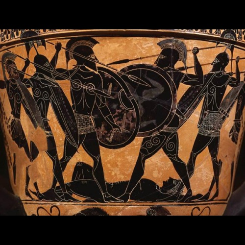 scene from Homer's Iliad