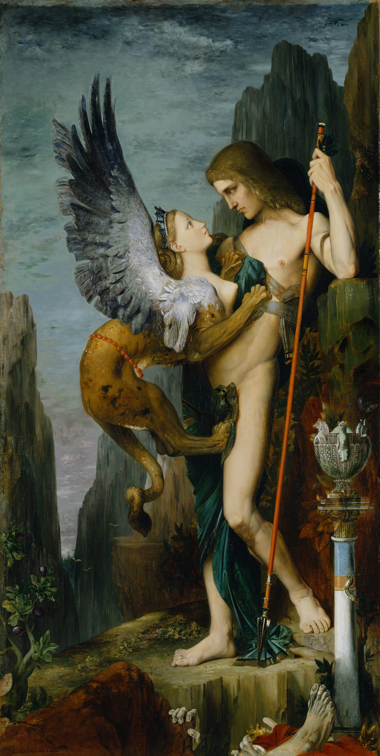Oedipus and the Sphynx